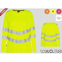9543-182 ENGEL SAFETY DAMEN  LANGARM-SHIRT