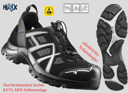 610005 HAIX BLACK EAGLE SAFETY 61 LOW LEICHTER SICHERHEITSSCHUH daf5ea34ce